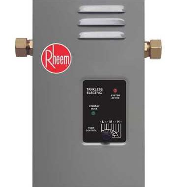 Savings From Tankless Water Heaters