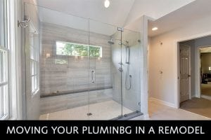 Moving Plumbing in a Remodel
