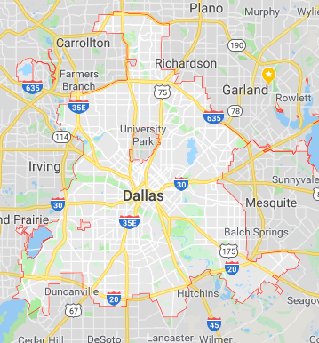 Dallas, Texas Outline